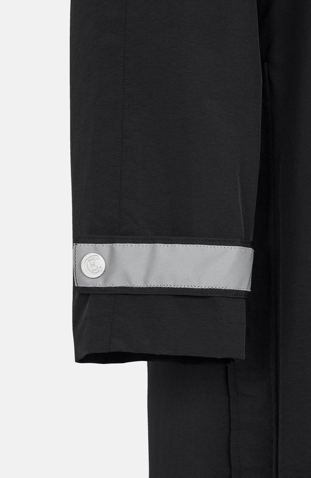 Dlouhá pláštěnka s reflexními prvky