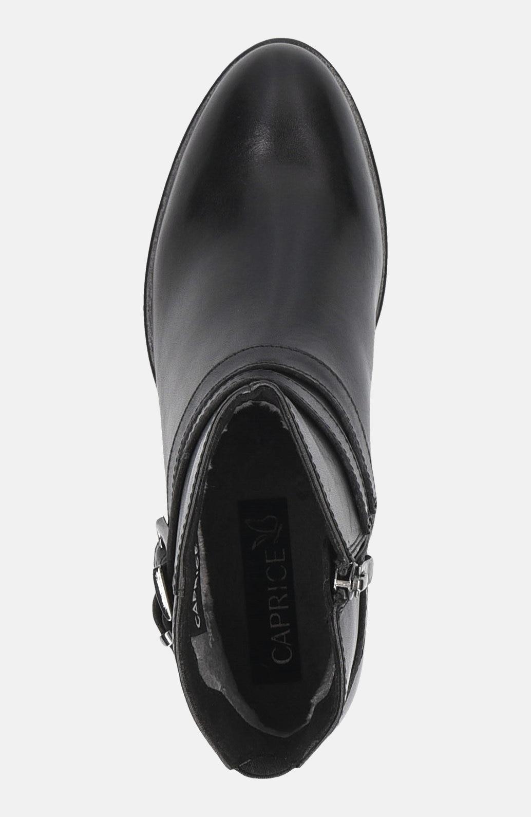 Kožená kotníková obuv