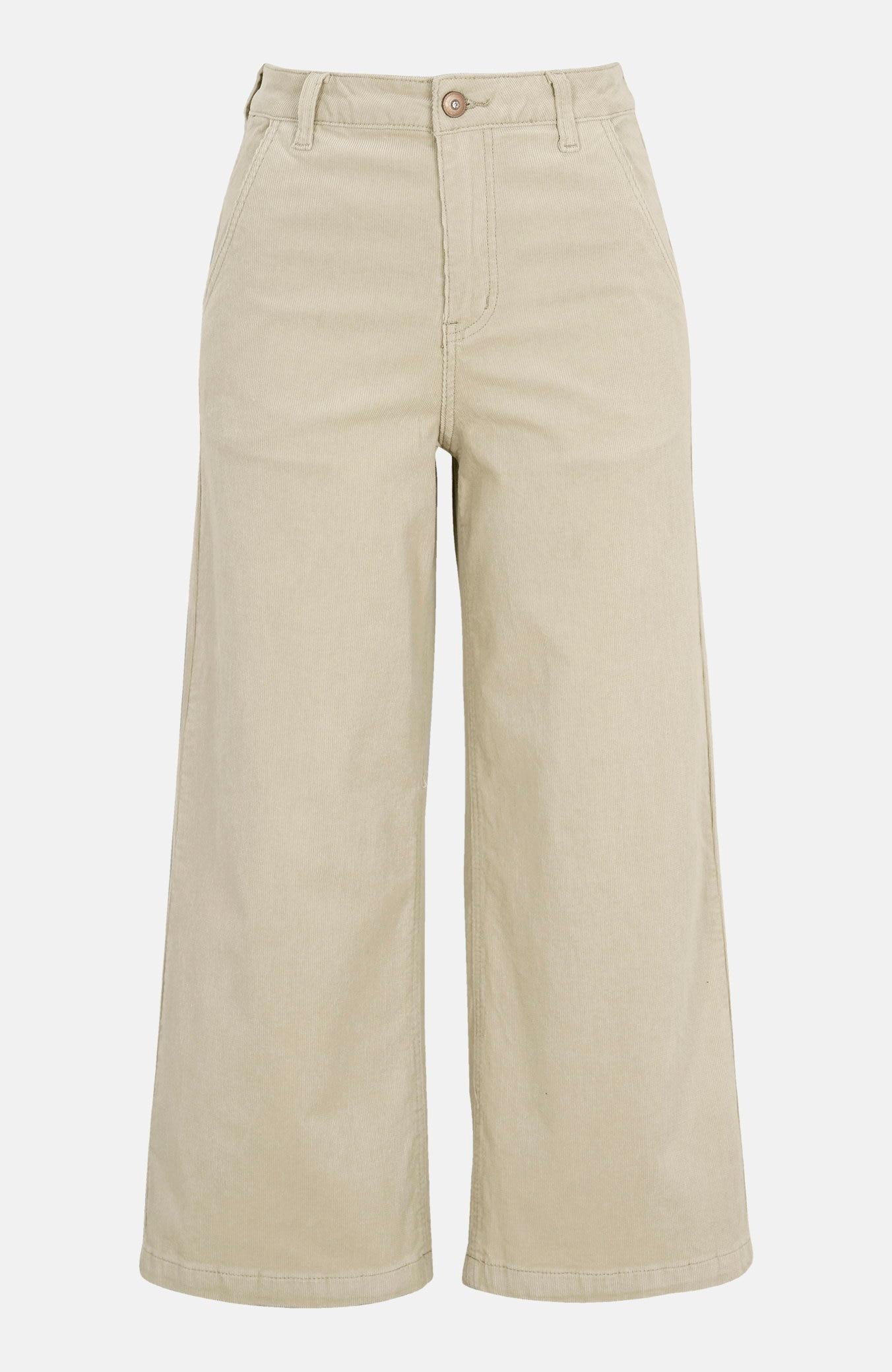 Manšestrové kalhoty culotte Morgan