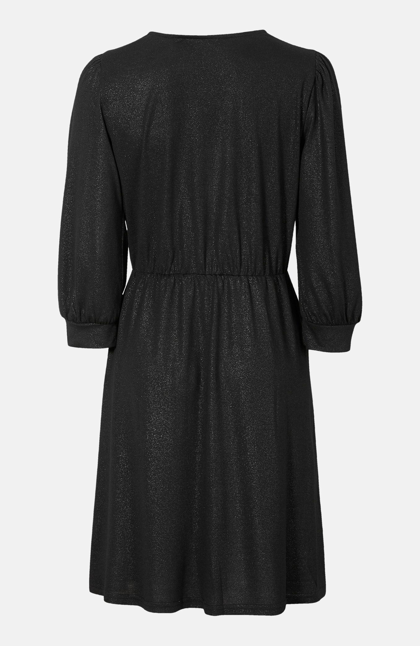 Třpytivé šaty se zavinováním Hika