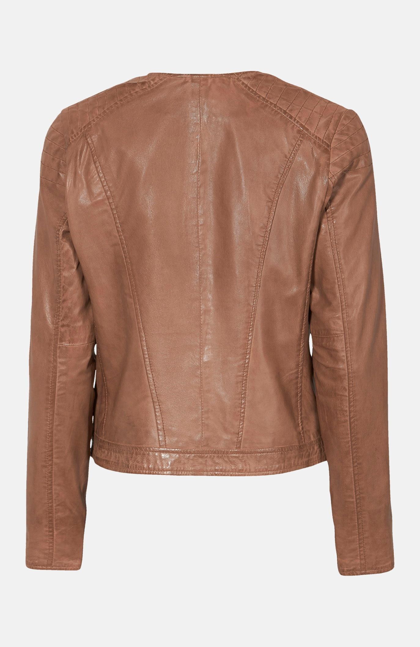 Krátká kožená bunda Paula