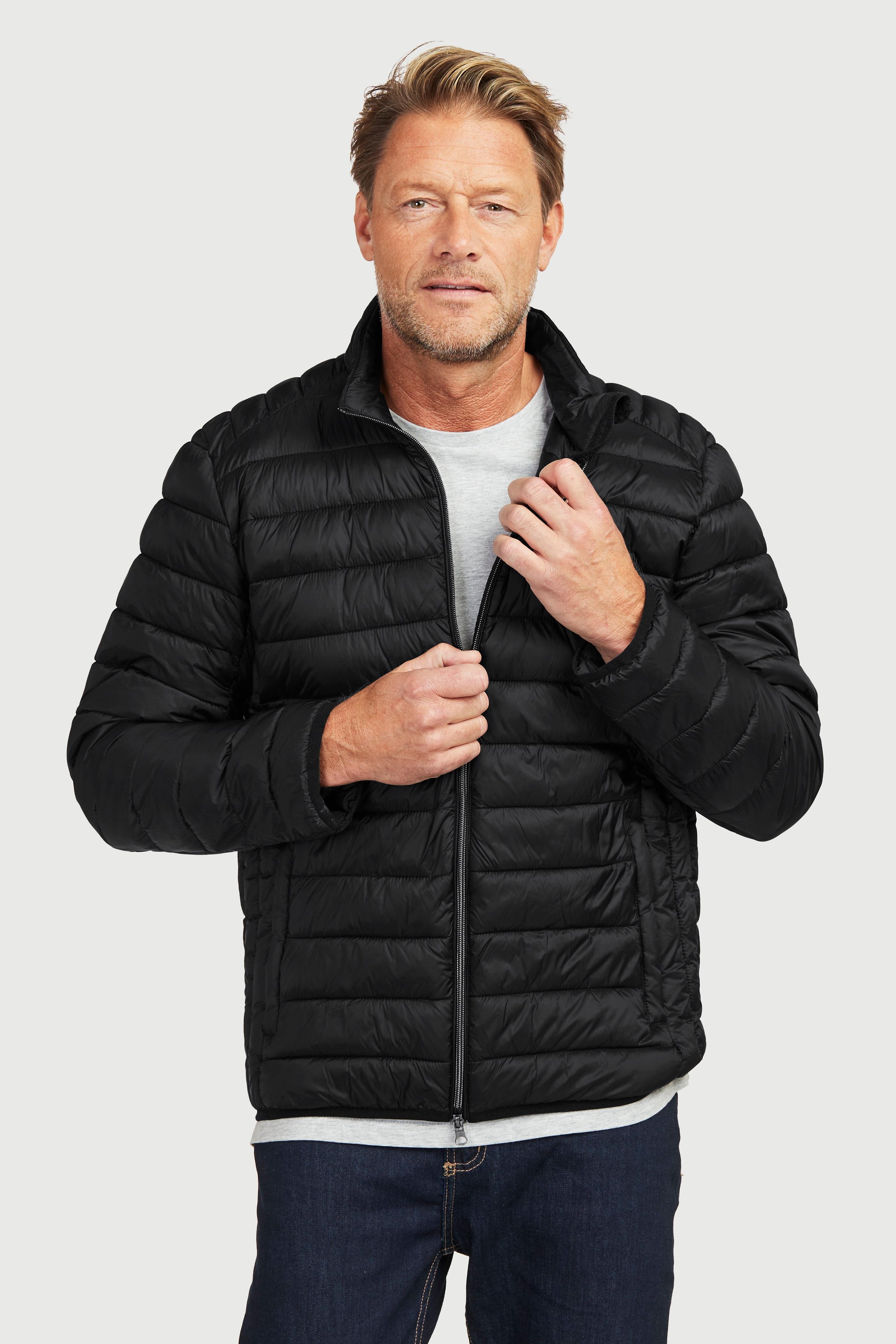 Polstrovaná lehká bunda ideální na podzim