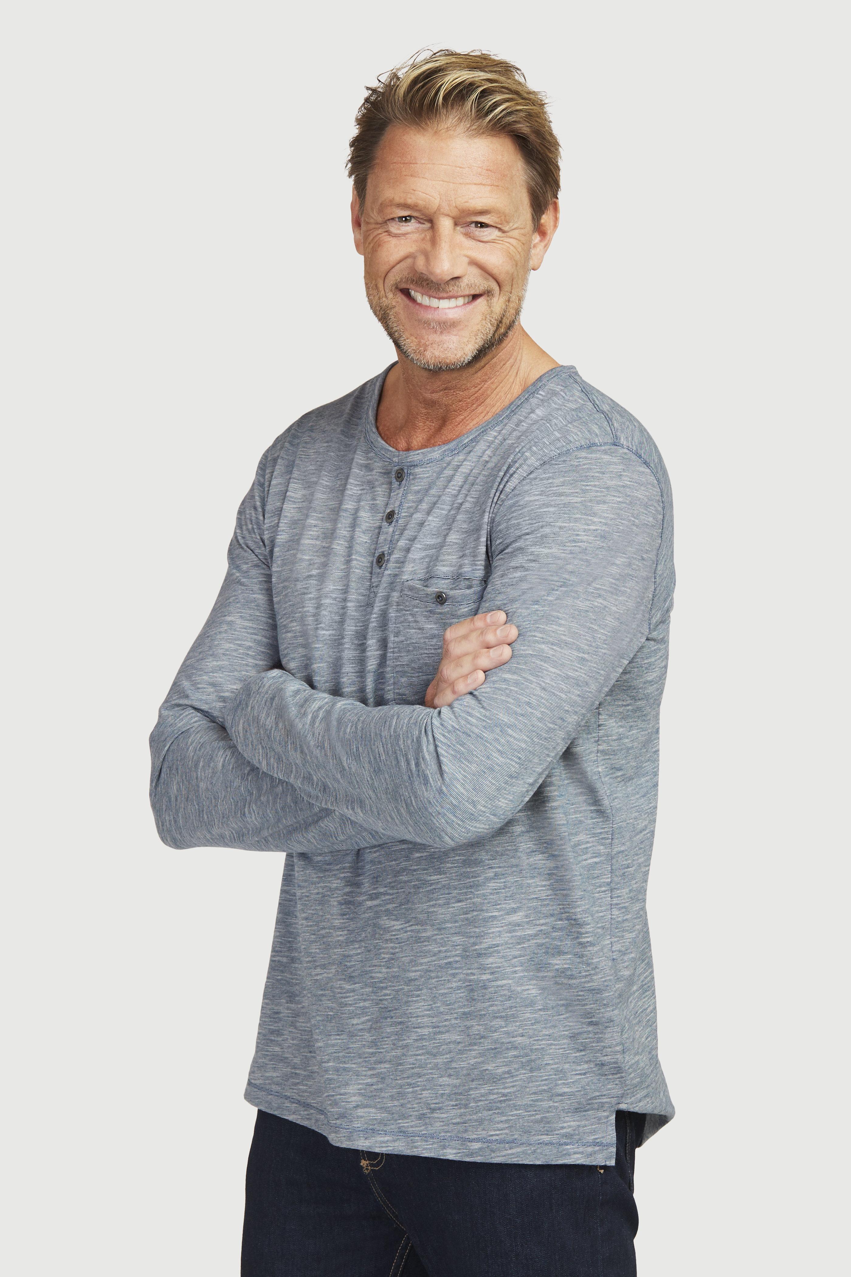 Košile Henley s dlouhým rukávem