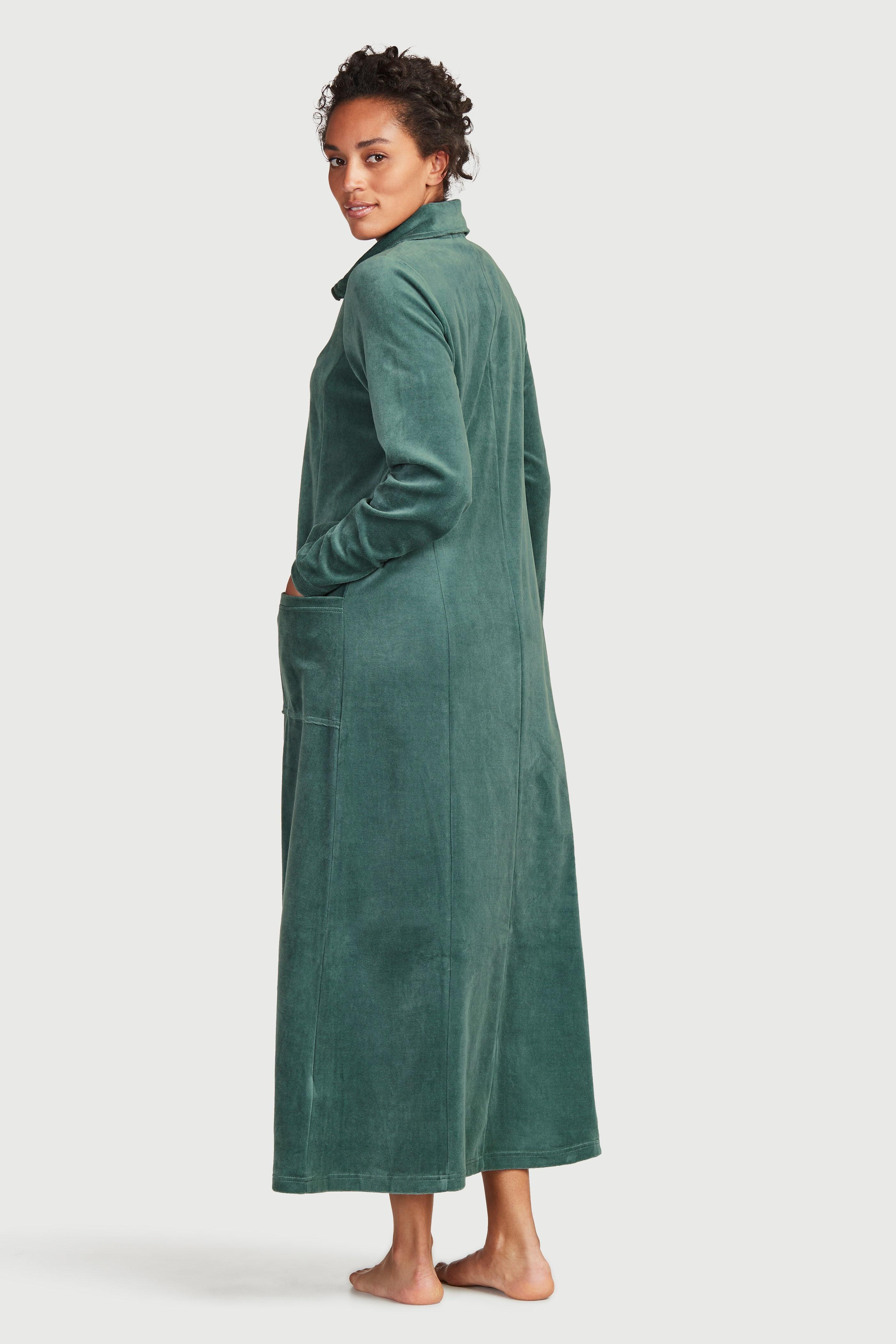 Velurový župan