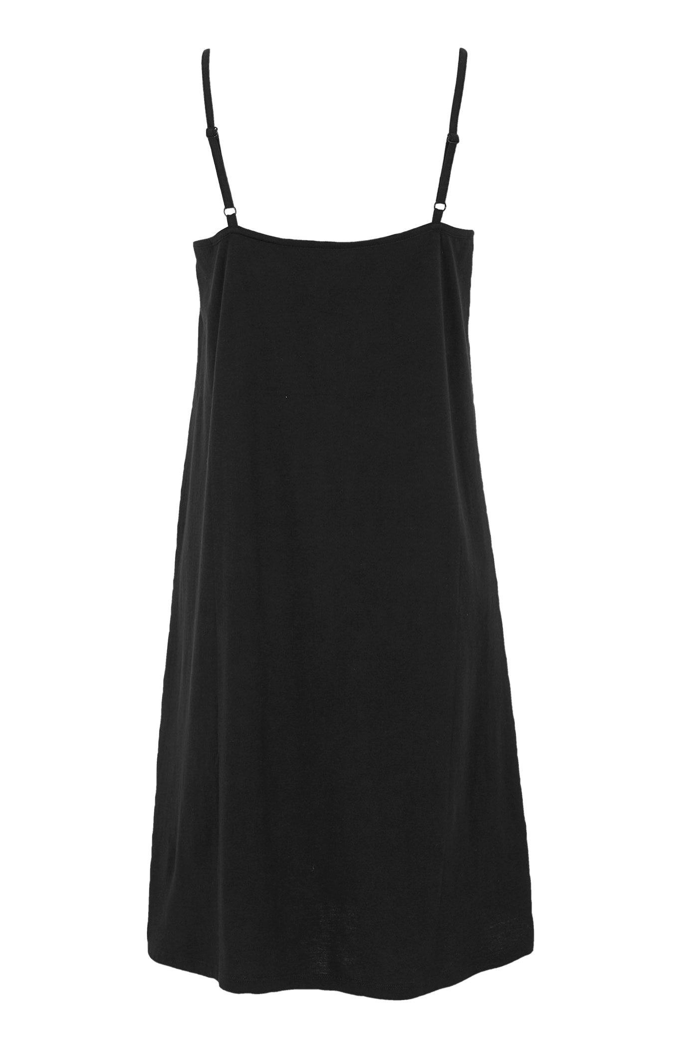 Černé plážové šaty