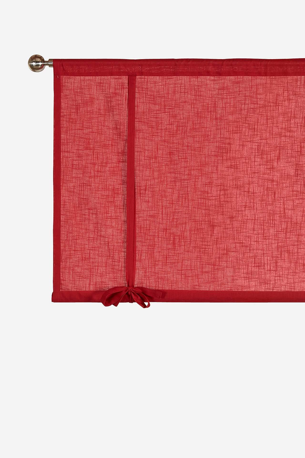 Stahovací záclona